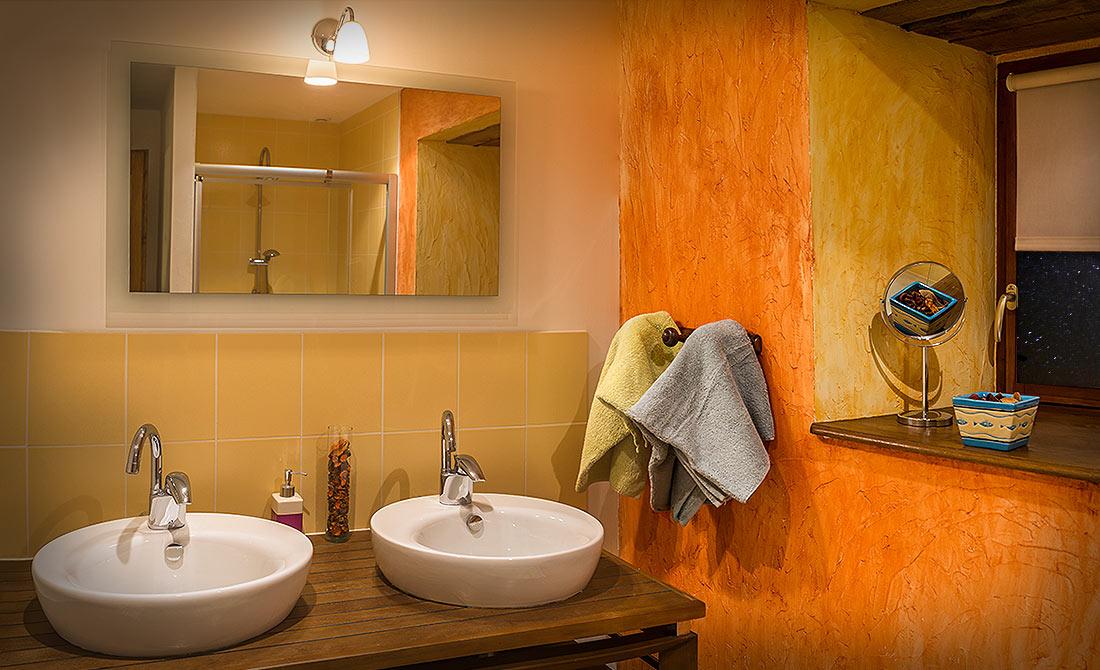 salle de bain chambres lot