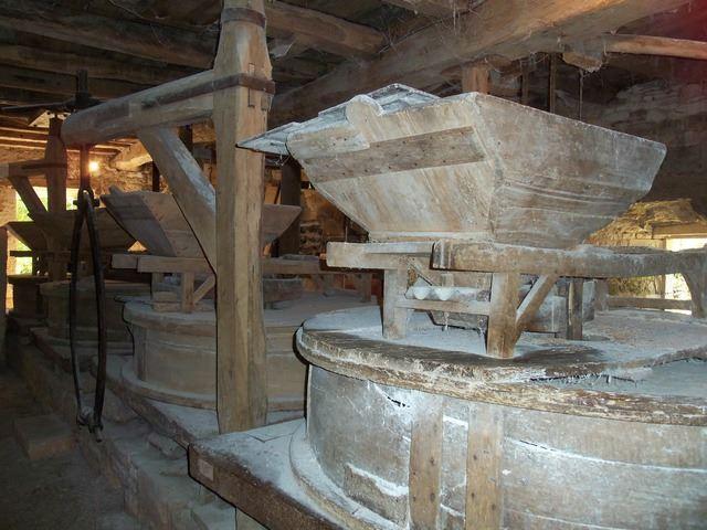 Meule du moulin cougnaguet