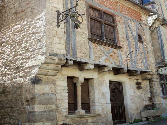 Maison médiévale de saint cirq lapopie