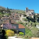 Saint-cirq-lapopie dans le LOT un des plus plus beaux villages de France