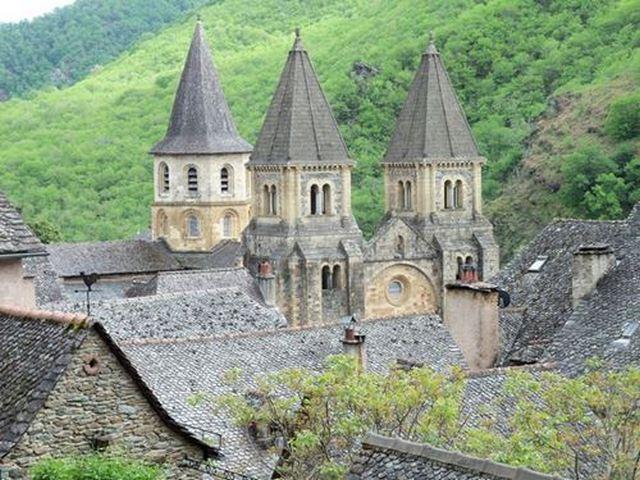 l'abbatiale Sainte-Foy conques Lot