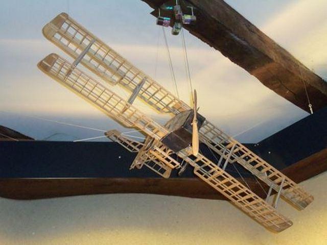 Le musée Ratier à Figeac maquette d'avion