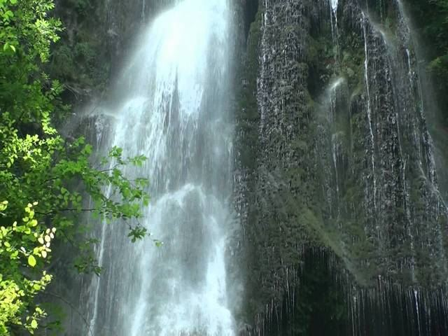 La cascade d'Autoire dans le Lot