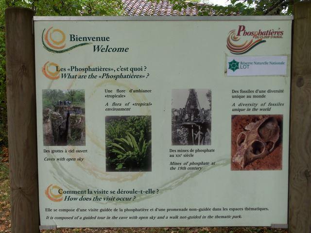 Histoire Phosphatières lotoises