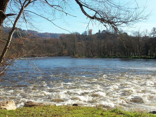 Eau vive Rivière Dordogne