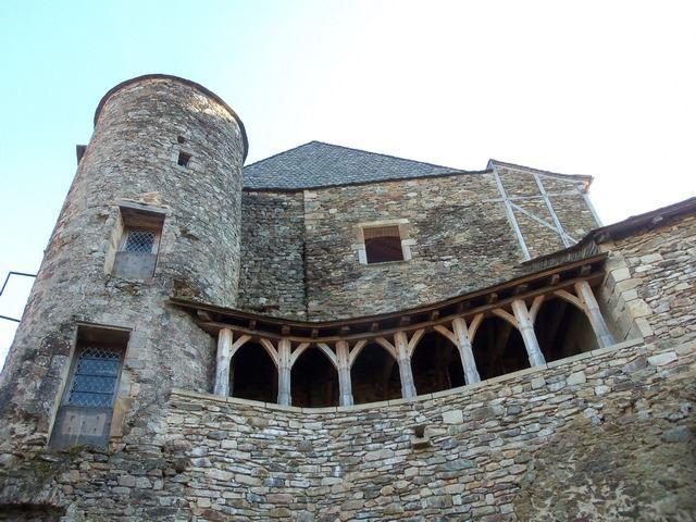 Architecture village de Najac