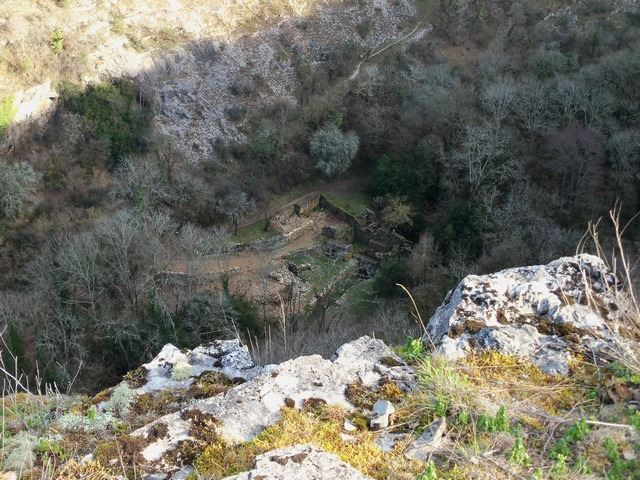 Paysage Causse Quercy Vallée de l'Alzou