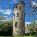 La tour de Cardaillac village Lotois