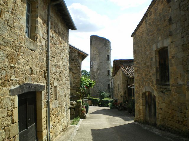 tour village Cardaillac Lot