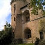 Château d'Assier façade et tour
